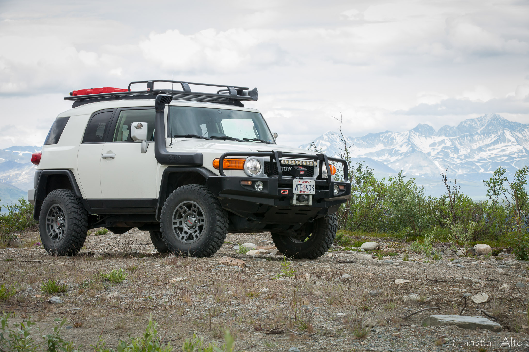 2014 Fj Cruiser Northern Overland